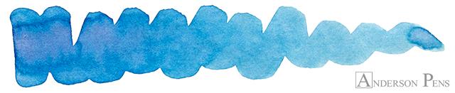 Chris's Top 10 Inks of 2018 - Graf von Faber-Castell Gulf Blue
