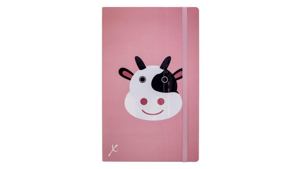 Stifflexible Notebook - Cow