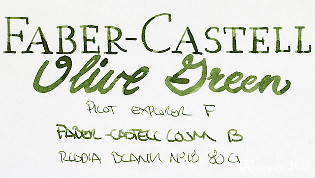 thINKthursday - Graf von Faber-Castell Olive Green