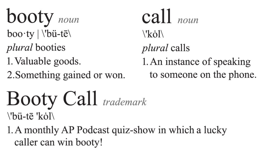 Booty Call Definition