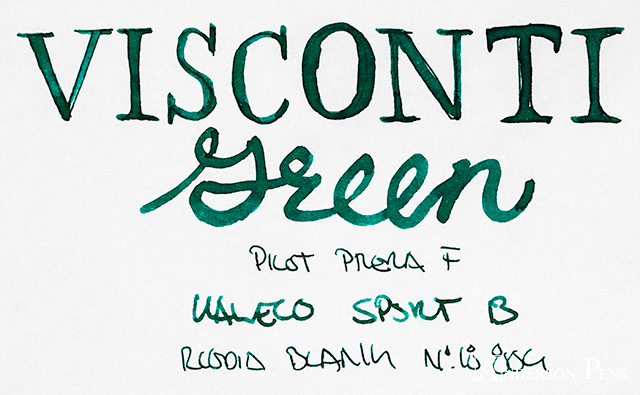 thINKthursday - Visconti Green