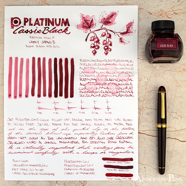 thINKthursday - Platinum Cassis Black