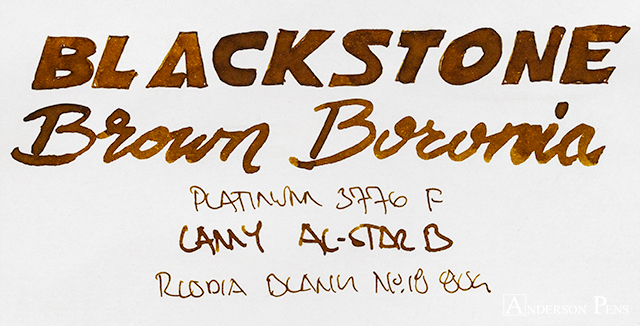 thINKthursday - Blackstone Brown Boronia