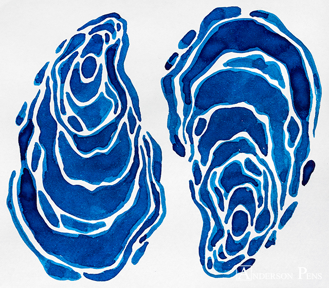 thINKthursday - 3 Oysters Blue
