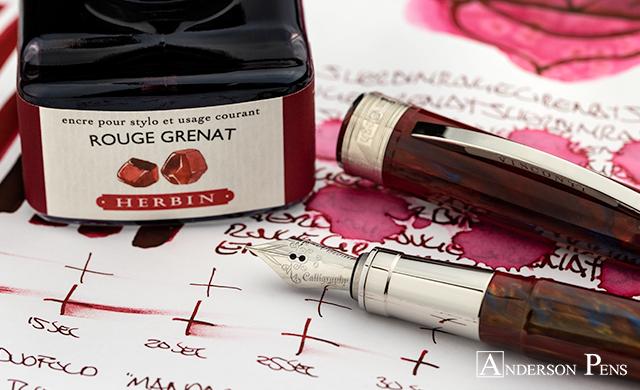 thINKthursday - J Herbin Rouge Grenat