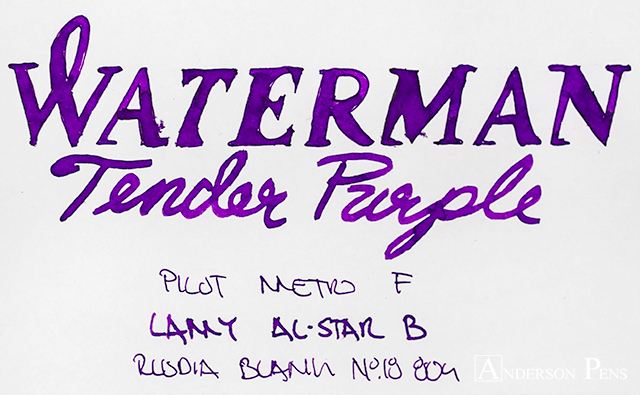 thINKthursday - Waterman Tender Purple