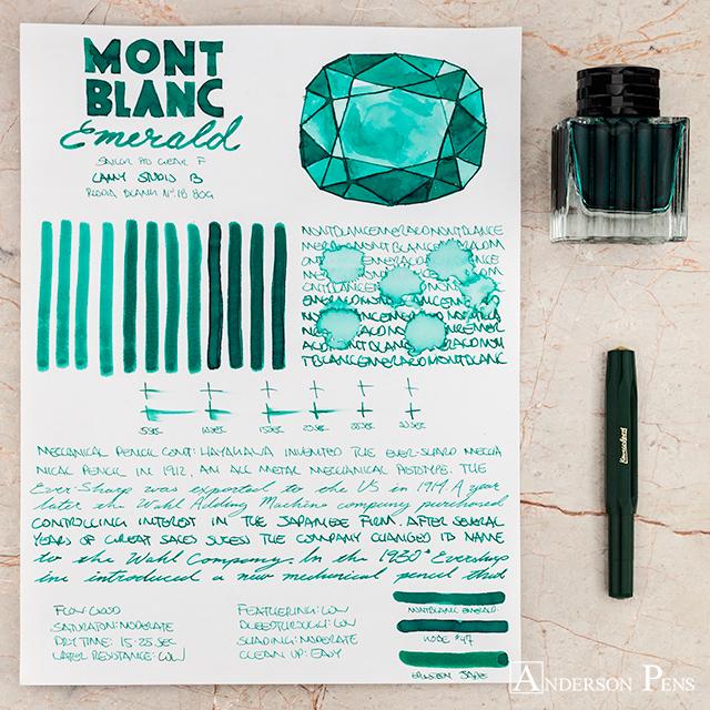 thINKthursday - Montblanc Emerald