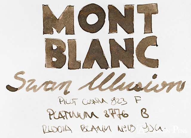 thINKthursday - Montblanc Swan Illusion