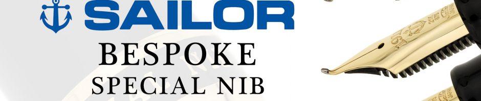 Anderson Pens - Sailor Bespoke Special Nib Program