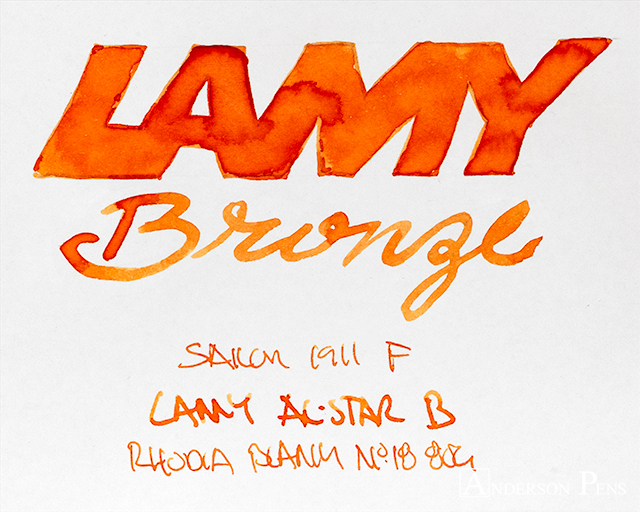 thINKthursday - Lamy Bronze