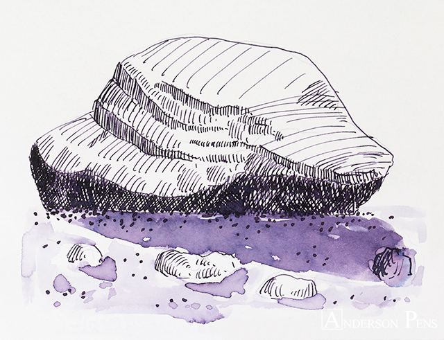 thINKthursday - Robert Oster Purple Rock