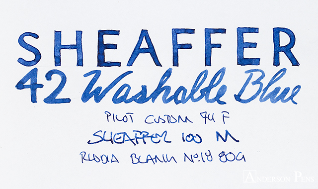 thINKthursday - Sheaffer Washable Blue