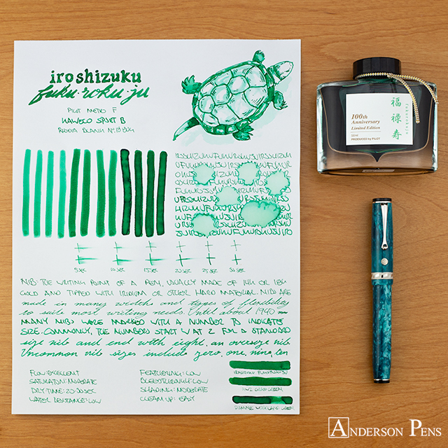 thINKthursday - Iroshizuku Fuku-Roku-Ju