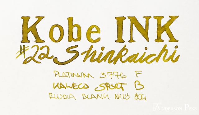 thINKthursday - KOBE #22 Shinkaichi Gold