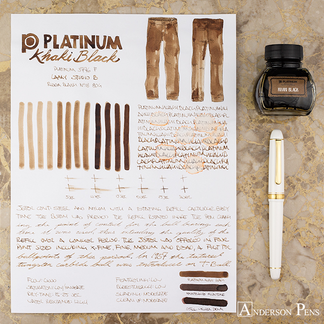 thINKthursday - Platinum Khaki Black