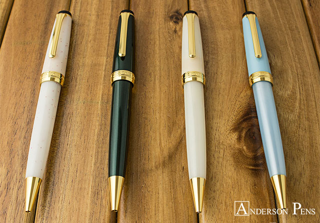 Lisa's Favorite Ballpoints - Sailor Pro Gear Slim Four Seasons
