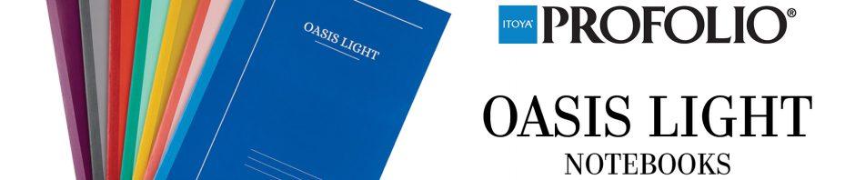 Mr. Paper! ProFolio Oasis Light Notebooks!