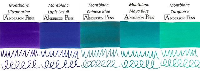 Montblanc Blue Palette