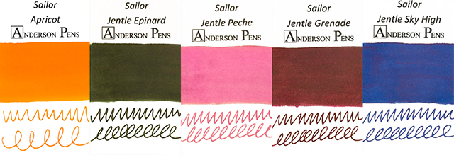Sailor Jentle Discontinued Inks