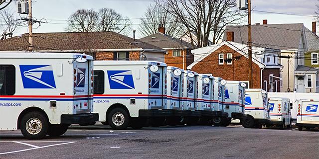 USPS Shipping Fleet
